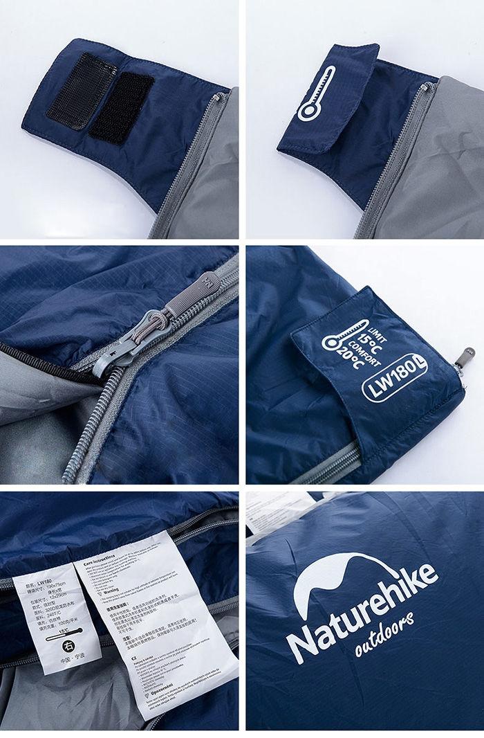 320D Nylon Keep Warm Sleeping Bag Sack For Outdoor Camping ...