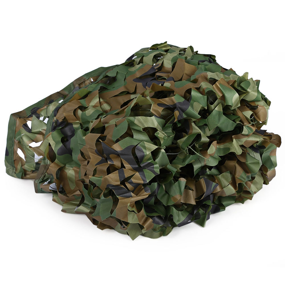 2M x 4M Woodland Military Army Hunting Camping Tent Car Cover Camouflage Net Netting