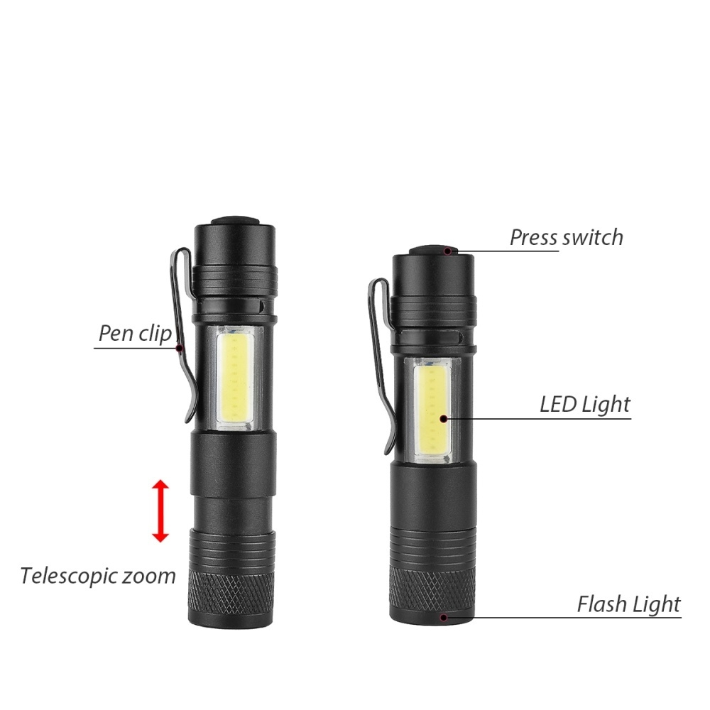 Made Waterproof flashlights that can penetrate through fog can find