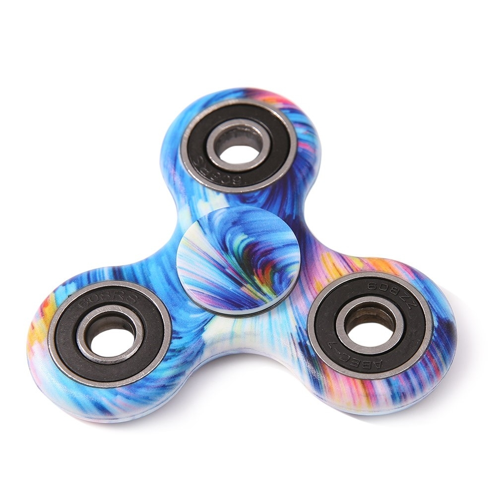 Boss Stress Relief Toys : Star sky print focus toy stress relief fidget spinner