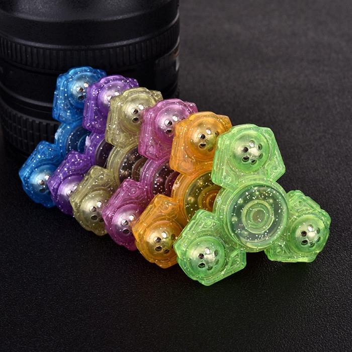 Finger Gyro Plastic Fidget Toy EDC Hand Spinner