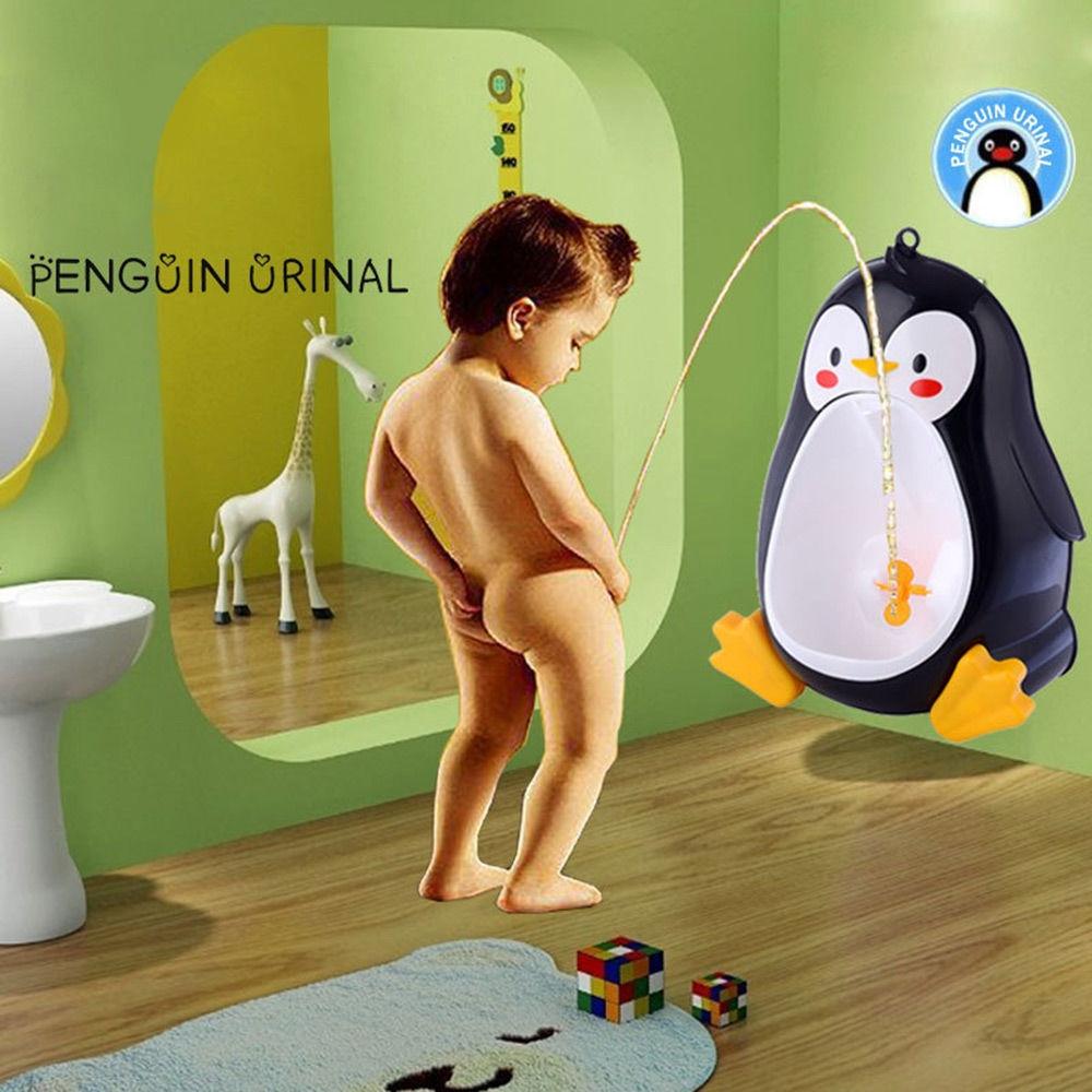 Penguin Shape Hang Type Boys Standing Urinal