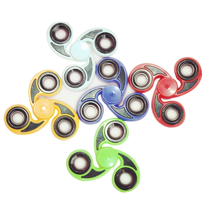 Stress Reliever Tri-Bar Finger Gyro Hand Spinner