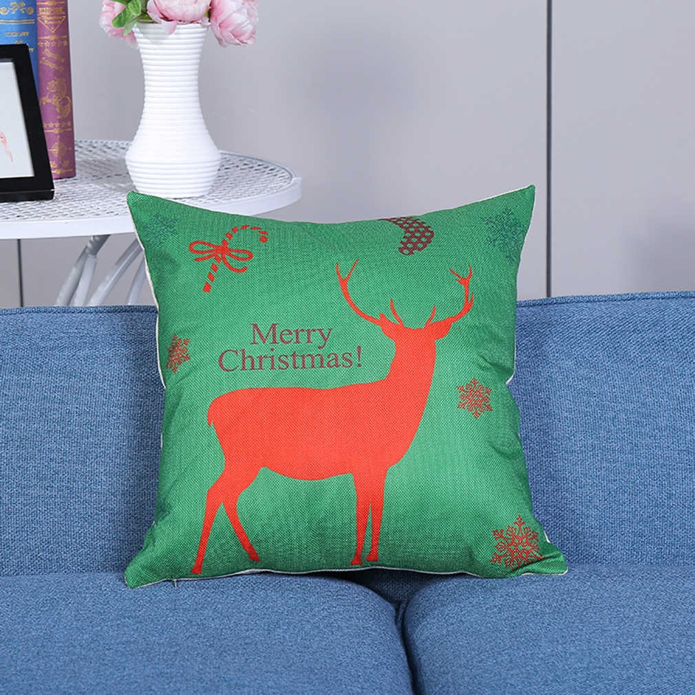 Throw Pillow Jumia : 45cm*45cm Deer Cotton Linen Pillowcase Throw Pillow Houseware Pillow Cushion - Jumia Kenya
