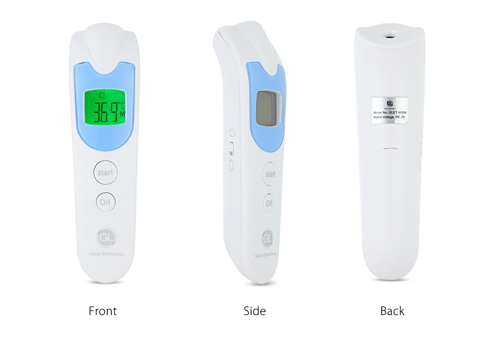 GL ET - W509 Digital Baby Forehead Non-contact Thermometer with LCD Backlight