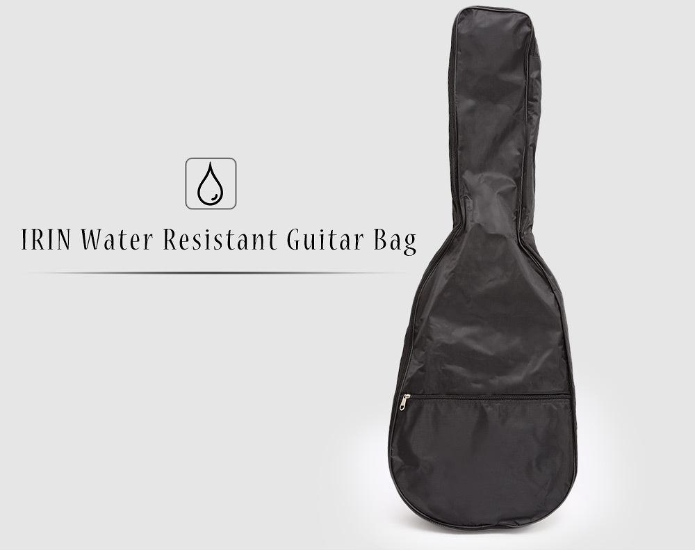 IRIN Water Resistant Acoustic Guitar Bag Case Carry with Shoulder Straps