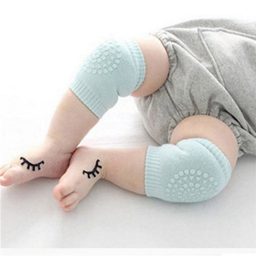 1 Pair Baby Knee Pad Kids Safety Crawling Elbow Cushion Infant Toddlers Leg Warmer