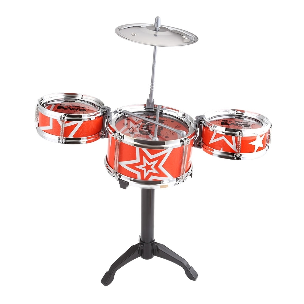 Buy Generic Jazz Rock Drums Set Kids Toy Musical