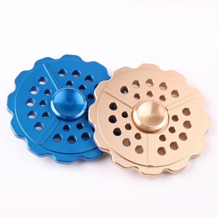 Anti-Anxiety Round Metal Fidget Toy Finger Spinner
