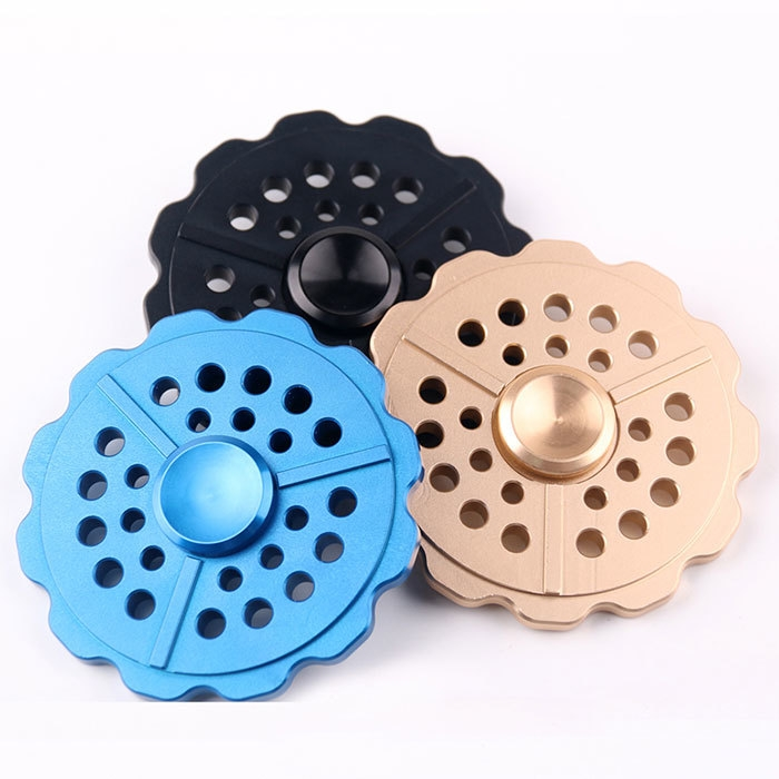 Anti-Anxiety Round Metal Fidget Toy Finger Spinner