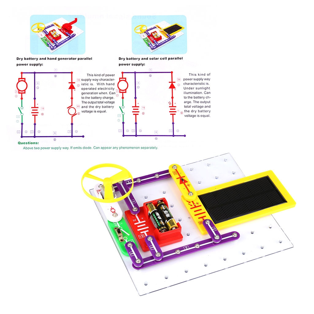 Buy Generic Teacher Wang W 6888 Snap Circuits Electronics Discovery Circuit Vs Parallel For Kids Using The Above As An Package Plastic Bags Can Be Dangerous To Avoid Danger Of Suffocation Keep This Bag Away From Babies And Children Key Features