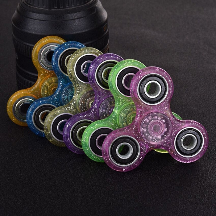 EDC Focus Toy Finger Gyro Stress Relief Plastic Fidget Spinner