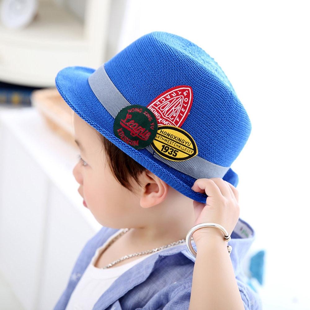 c07e6dec0 Generic jiuhap store Summer Baby Hat Cap Children Breathable Hat ...