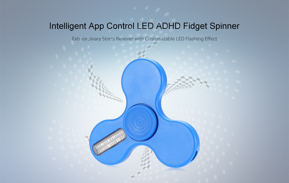 Generic App Control LED Fidget Spinner Funny Stress Reliever