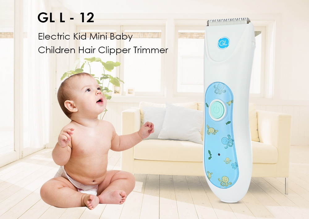 GL L - 12 Kid Mini Baby Children Hair Clipper Trimmer Electric Hairdressing Tool