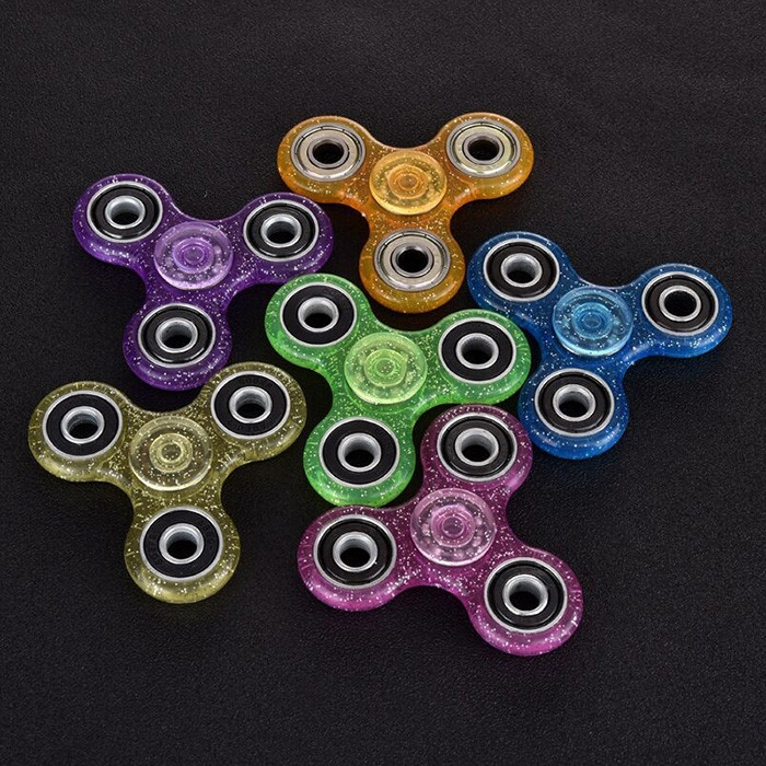 EDC Focus Toy Finger Gyro Stress Relief Plastic Fidget Spinner