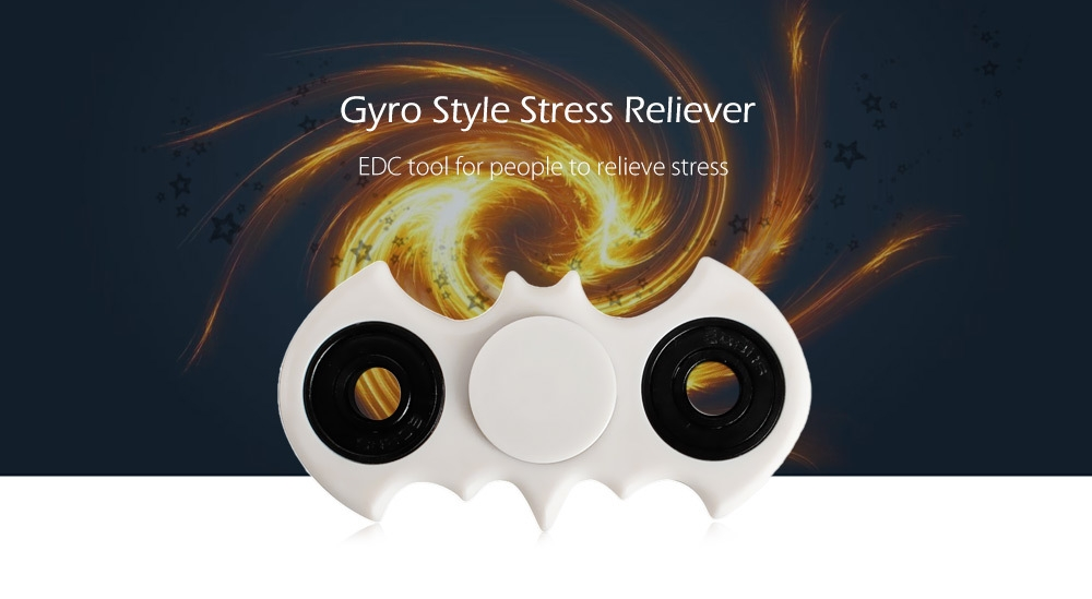 ABS ADHD Adult EDC Fidget Spinner Stress Reliever Toy Relaxation Gift