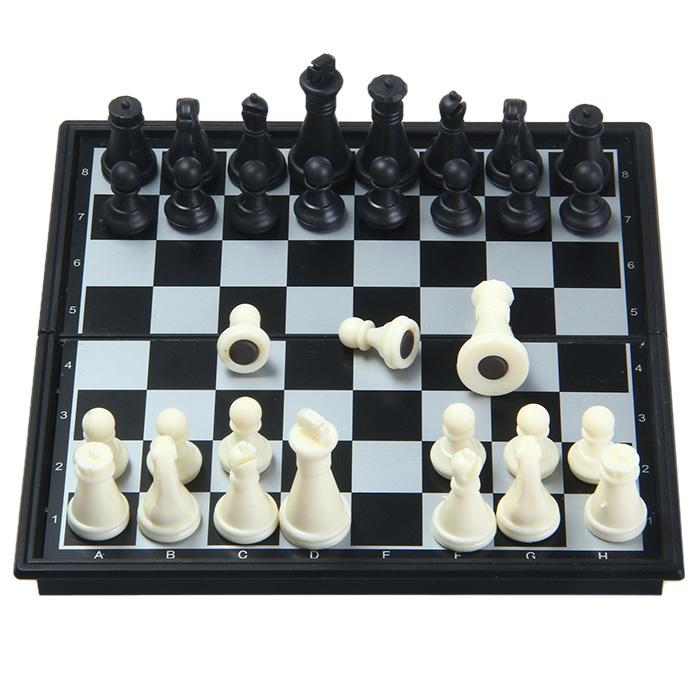 32Pcs VIICSC Tiny Chess Magnetic Game Set SC. 5277 Educational Toy Fun Game