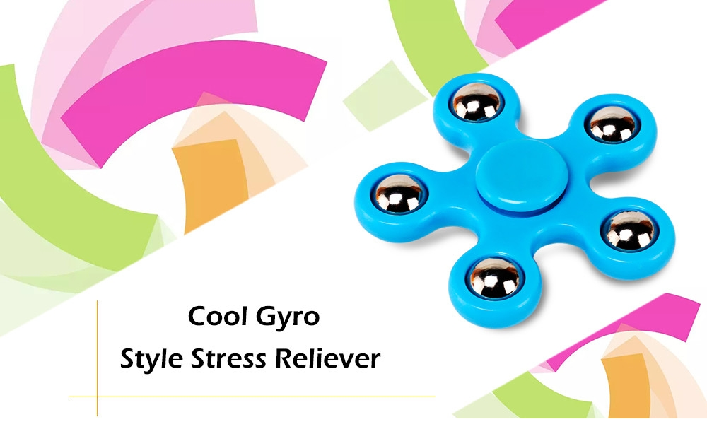 5pcs Steel Ball Fidget Spinner Stress Reliever Toy for Adult