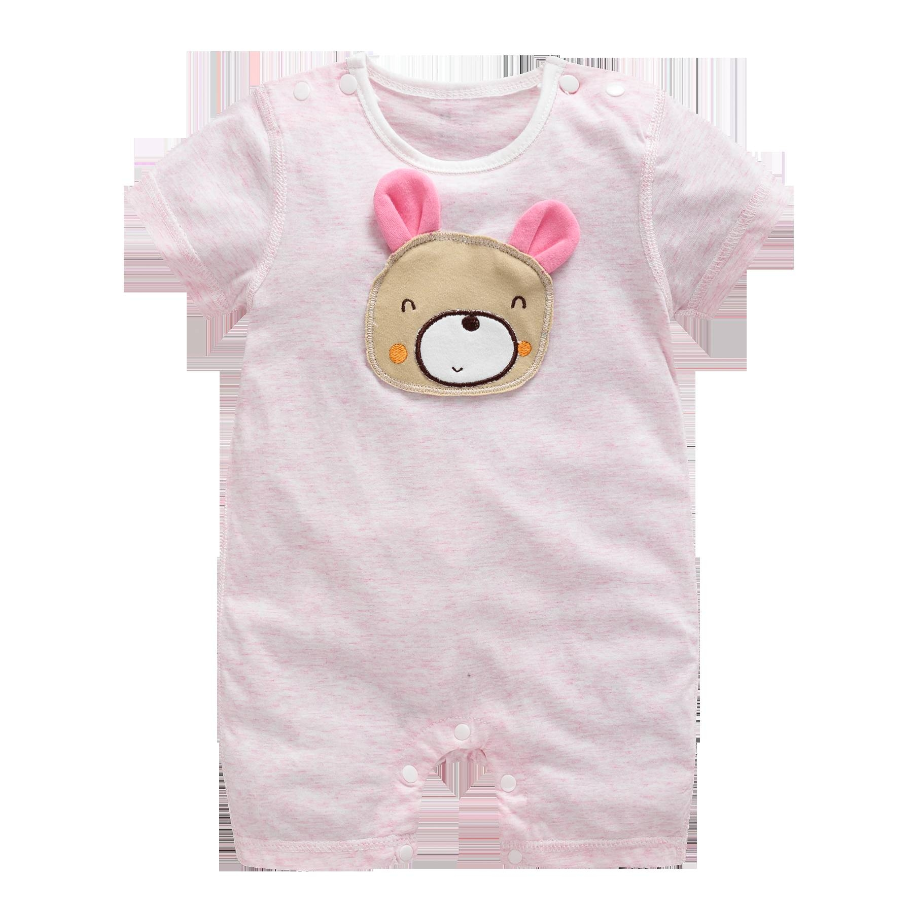 a6f9ab963 Generic Summer new baby short-sleeved cotton clothing