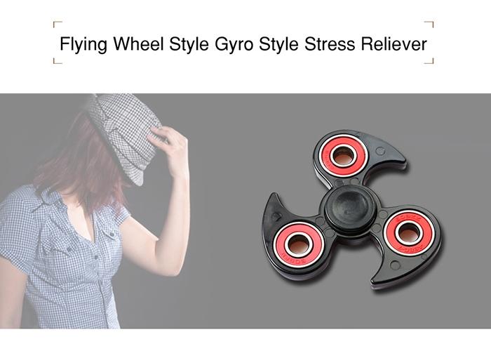 Fidget Toy Flying Wheel Hand Tri-Spinner