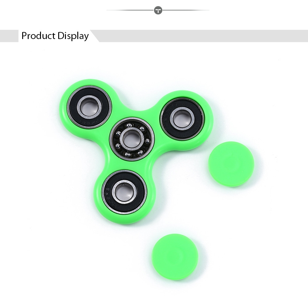 Tri Fidget Hand Spinner EDC Finger Toy for ADHD Autism Learning