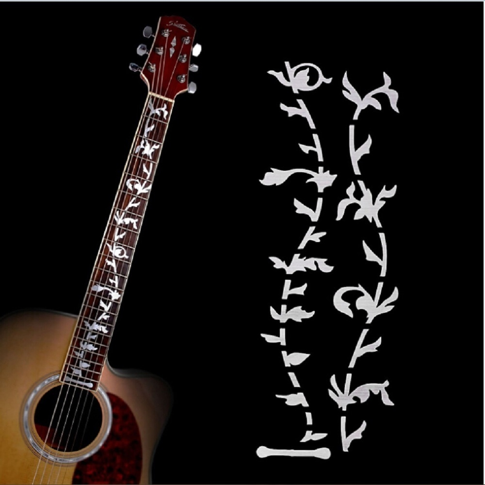 Acoustic Electric Tree of Life Music Guitar Bass DIY Sticker