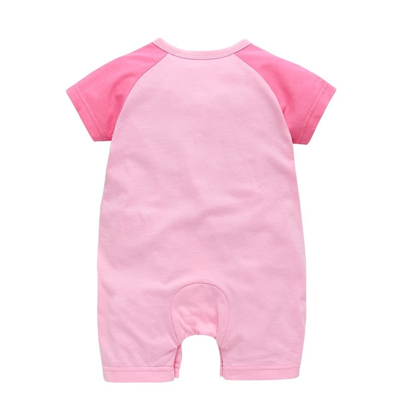 b53aec4e134 Generic 2018 New pattern baby girl clothes boy rompers summer short ...