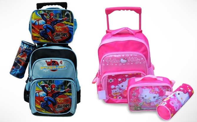 Image result for kids trolley bags