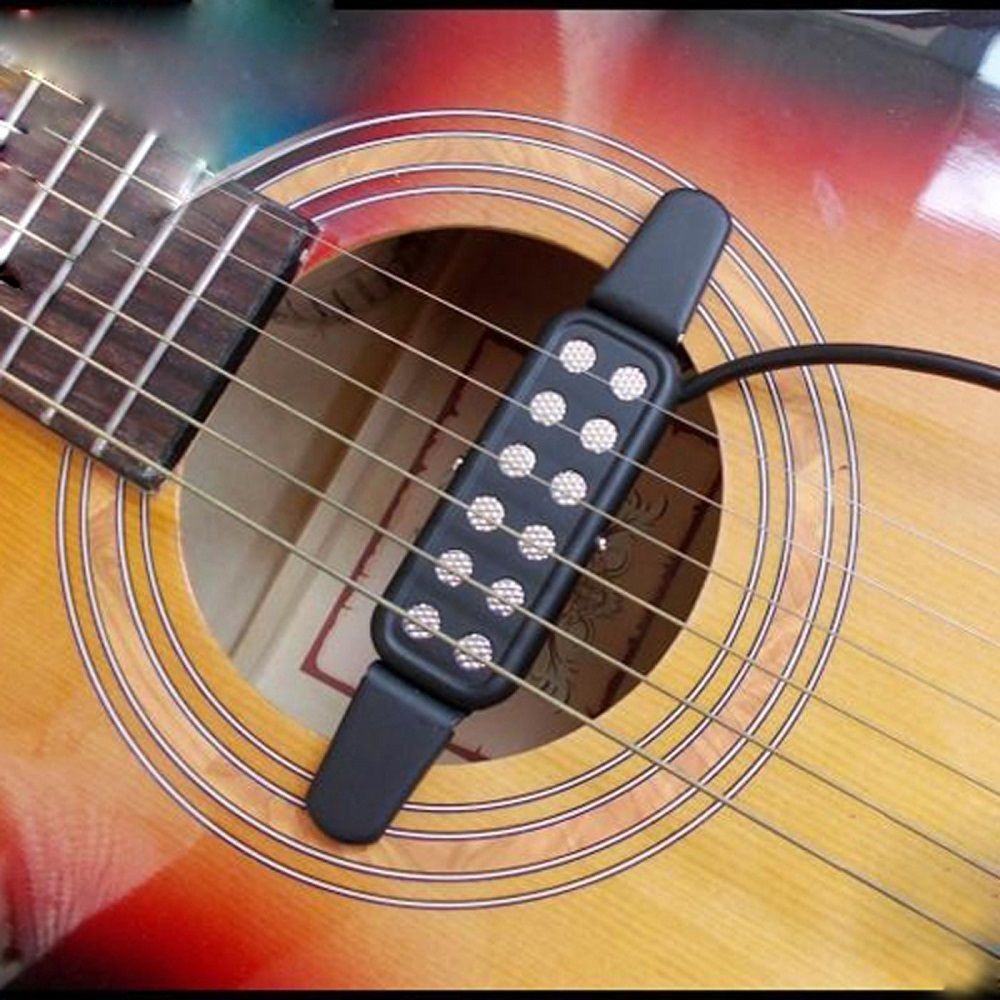 Acoustic Guitar Pickup Electric Transducer / Amplifier