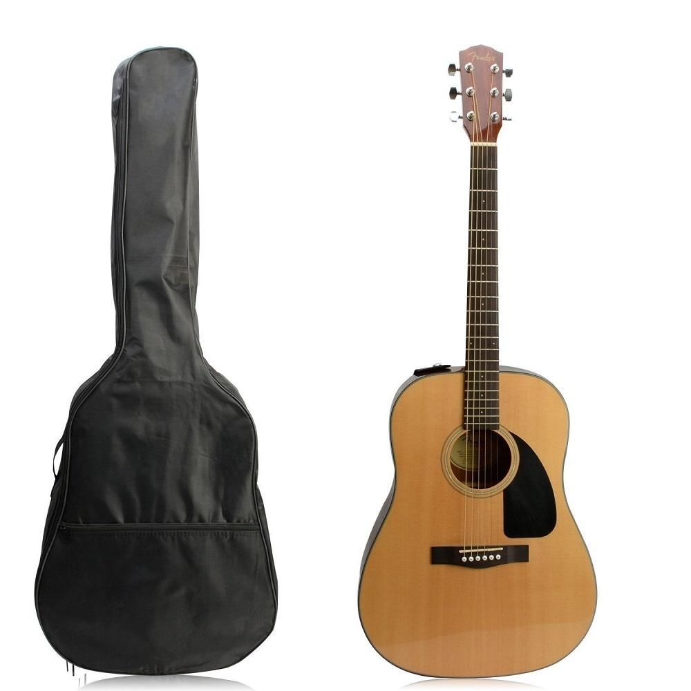 41 Inch Waterproof Nylon Acoustic Guitar Gig Bag Soft Case Cover Black