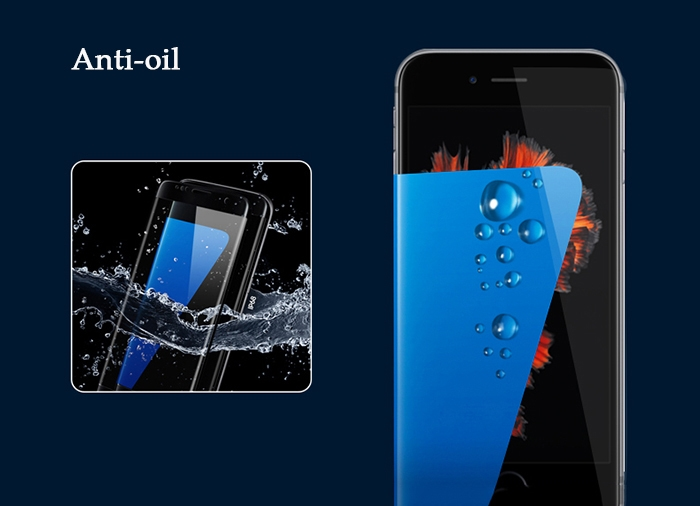 Gocomma Tempered Glass Screen Protective Film for iPhone 7 / 8 0.26mm 2.5D 9H Explosion-proof Protector