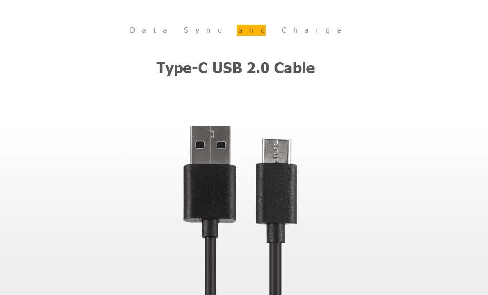 USB Type-C Charge and Sync Cable for Xiaomi