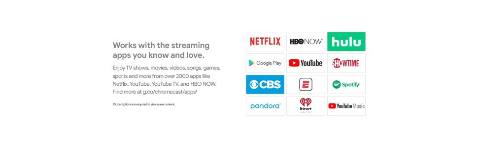 Google Chromecast 3rd Generation - Multimedia Streaming Device