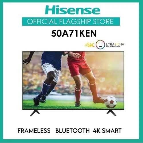 Hisense 50A71KEN 50 Inch Frameless Smart Tv Price in Kenya - Zuricart