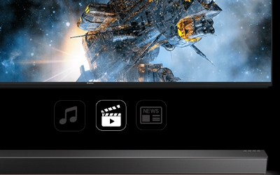 Optimise your audio experience with multiple sound modes