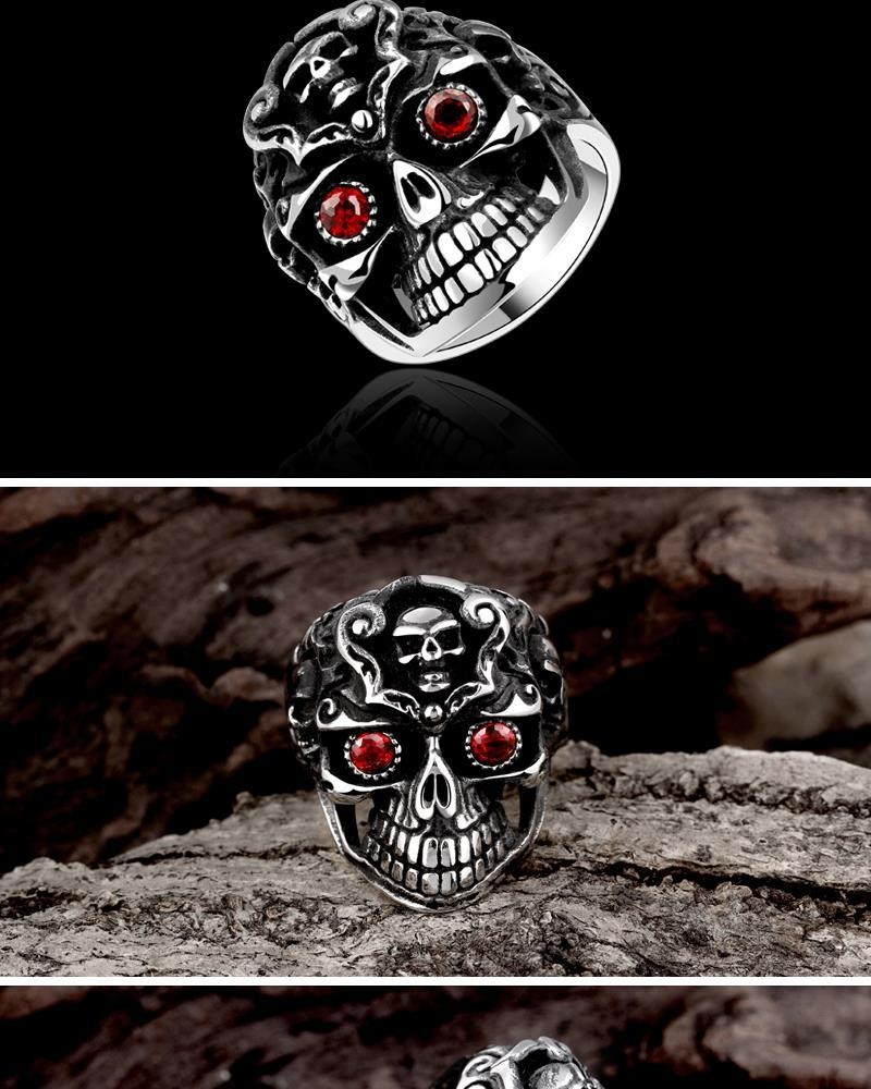 R192 316L Stainless Steel New Design Finger Ring For Man