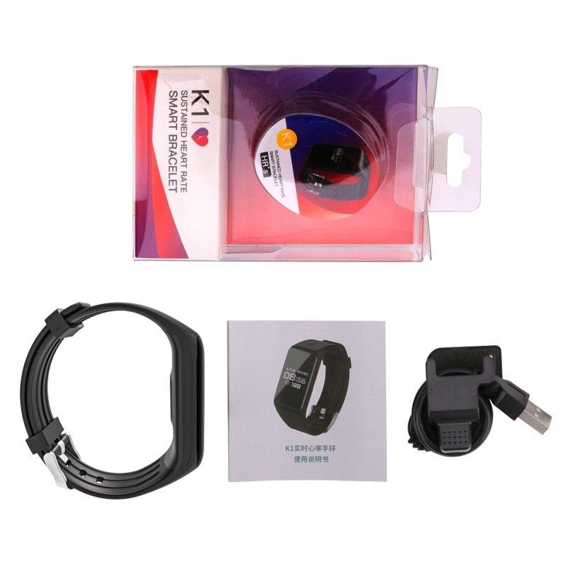Holife Hot Sale K1 Smart Bracelet Fitness Tracker Smart Wristband