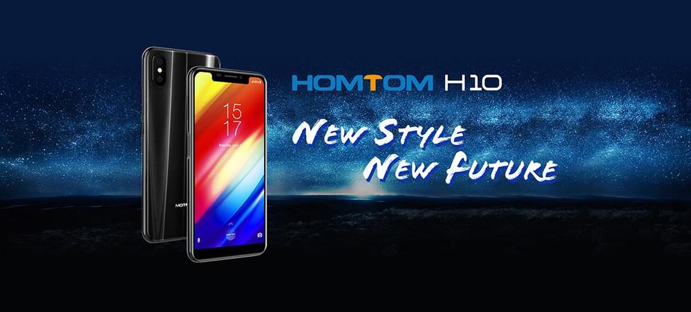 Homtom H10 4G Phablet 5.85 inch MTK6750T Octa Core 4GB RAM 64GB ROM