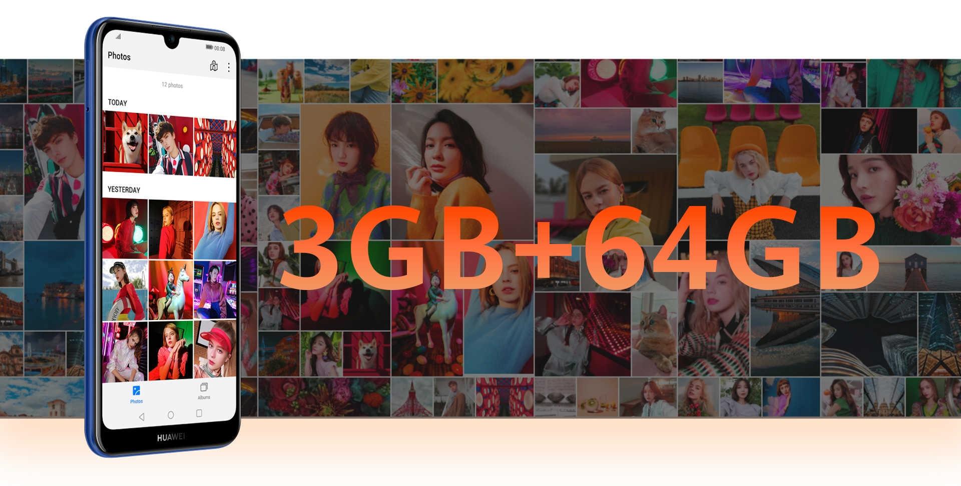 huawei y6s large storage phone