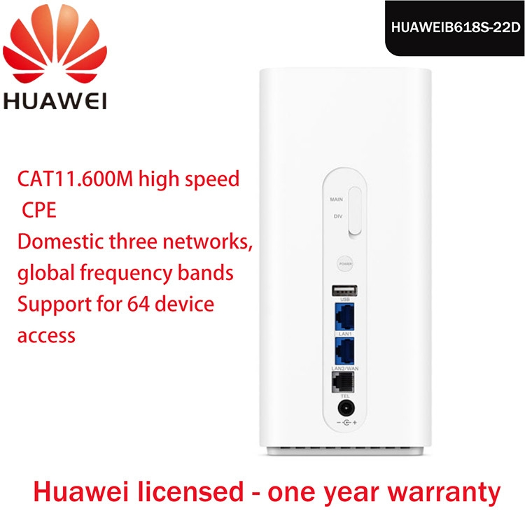 Huawei Discounted low price Huawei B618s-65d LTE Cat11 Wireless