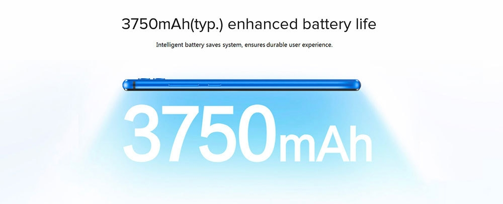 HUAWEI Honor 8x 4G Phablet 6.5 inch Android 8.1 Kirin 710 Octa-core 2.2GHz 4GB RAM 128GB ROM 20.0MP + 2.0MP Rear Camera Fingerprint Sensor 3750mAh Built-in