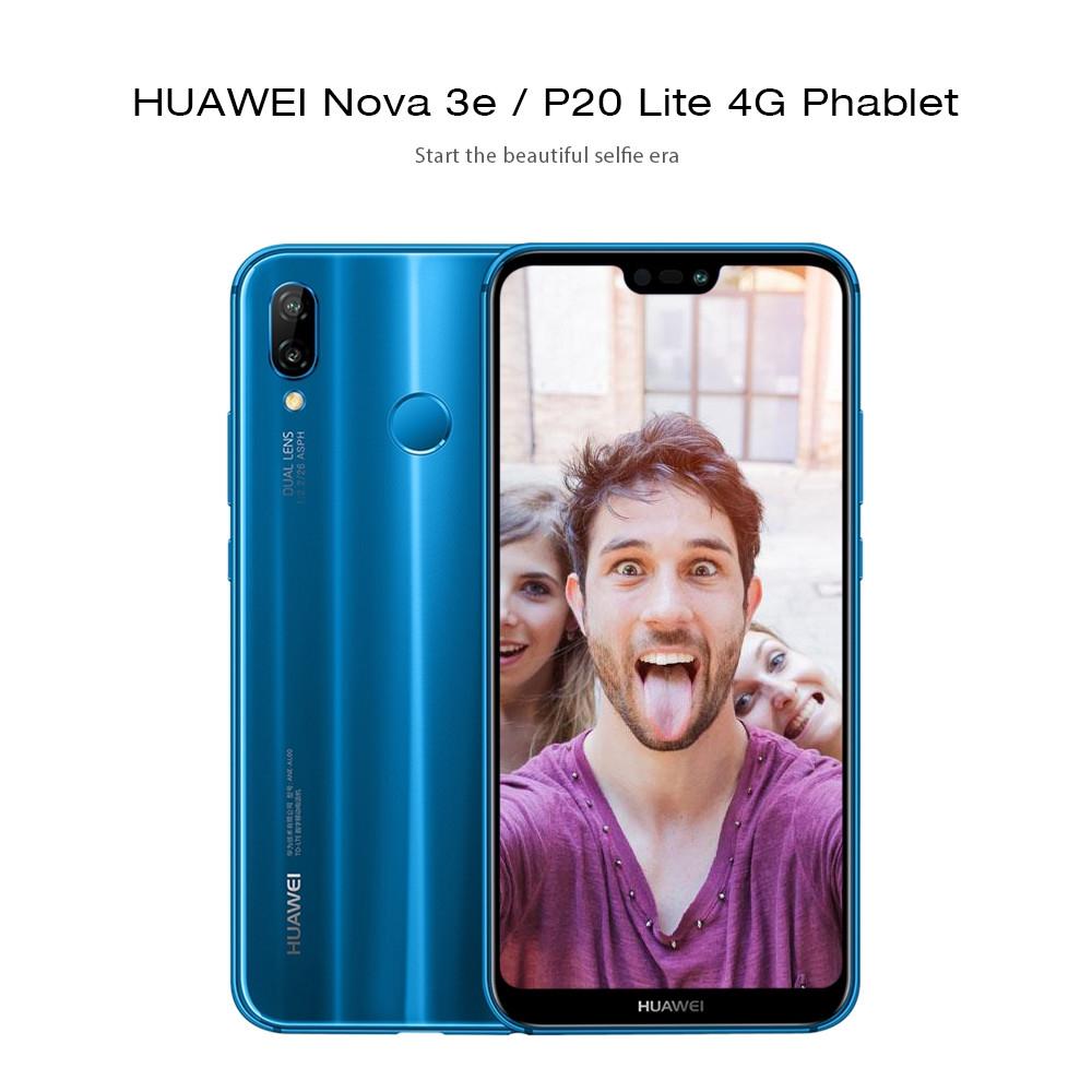 HUAWEI Nova 3e / P20 Lite 4G Phablet Kirin 659 Octa Core 4GB + 64GB