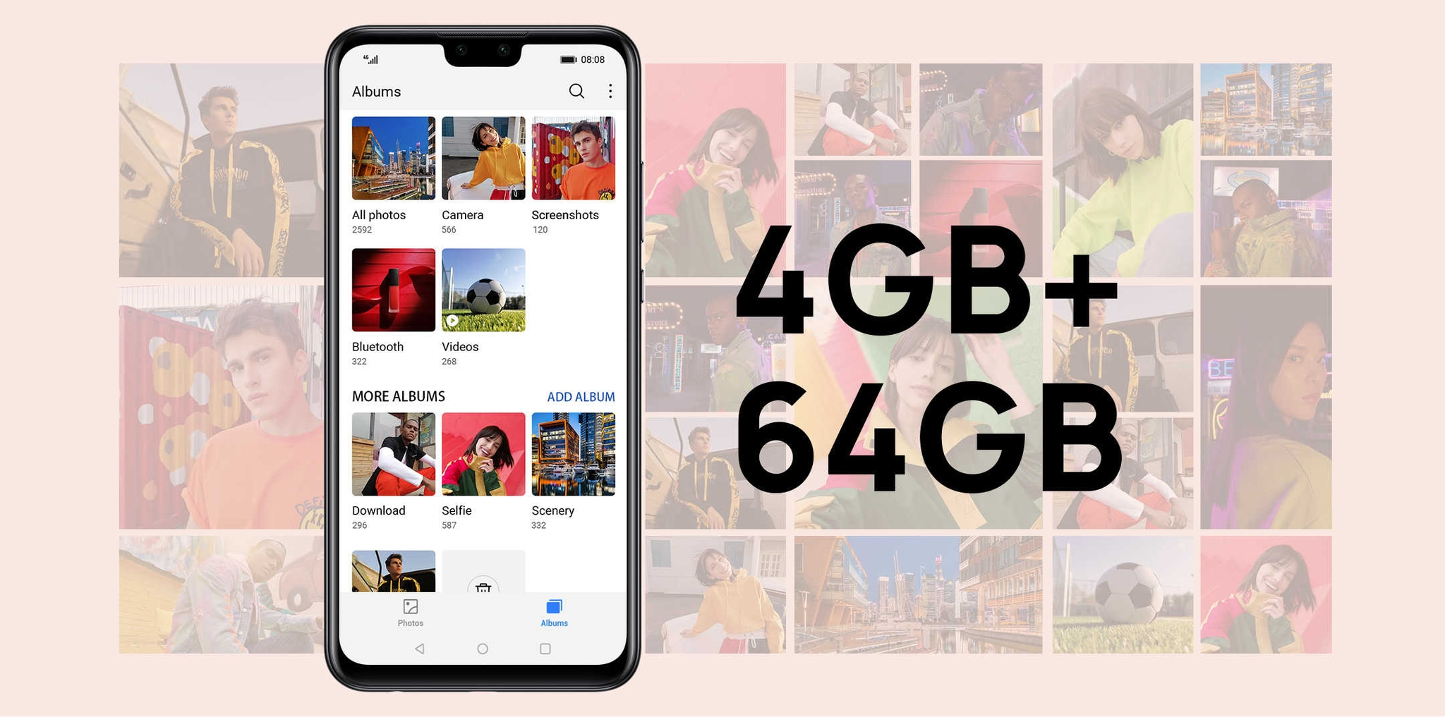 HUAWEI Y8s 64GB large storage