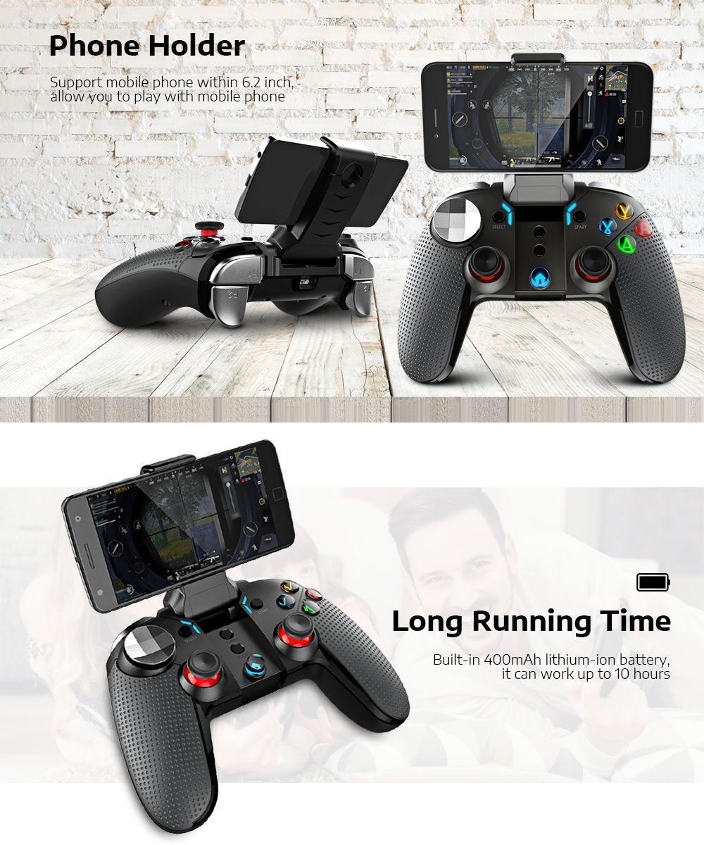 iPEGA PG - 9099 Wireless Bluetooth Gamepad Controller with Telescopic Holder