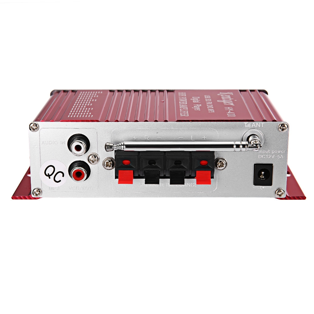 Buy Kentiger Hy 400 Stereo Power Amplifier Hi Fi Bass Audio Best Compatible With Tv Package Sizel X W H 1600 1150 480 Cm 63 453 189 Inches Contents 1 Remote Control