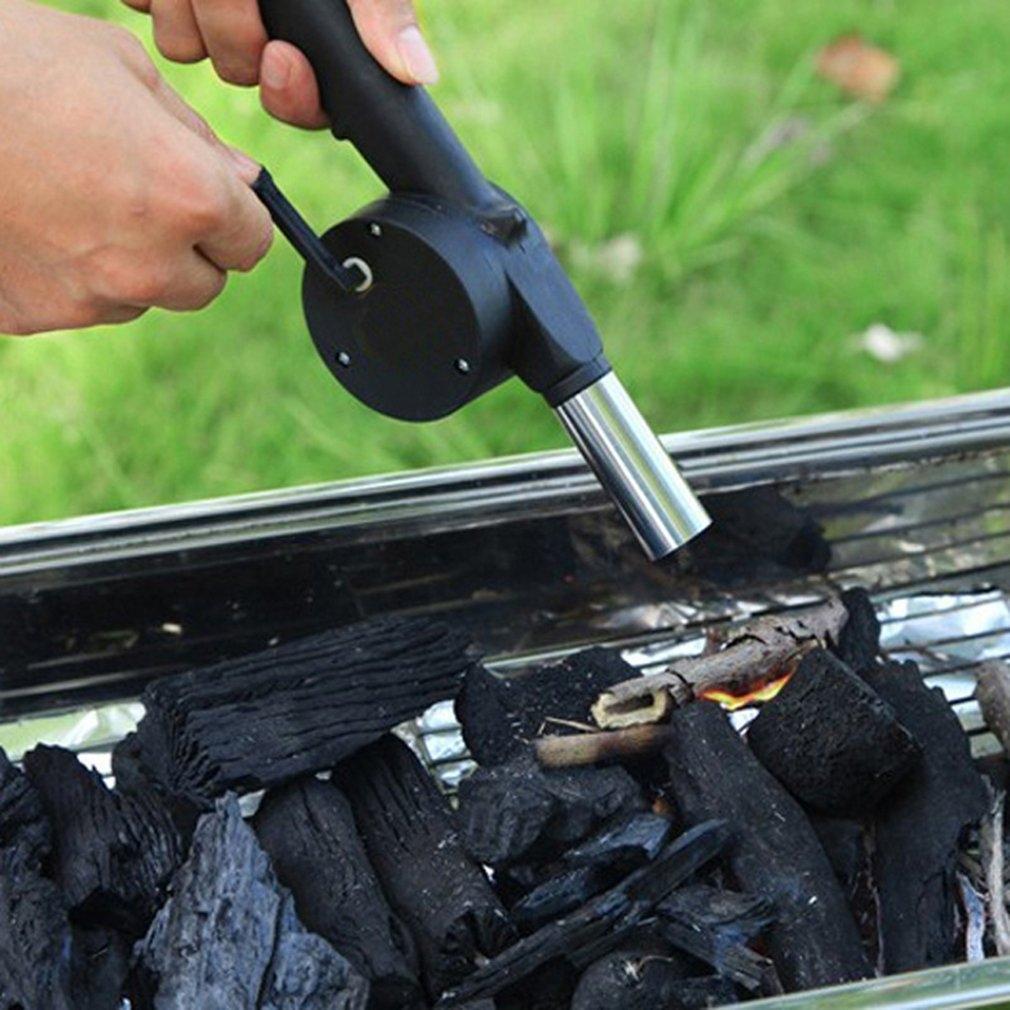 Barbecue Fire Bellows Tools Outdoor Cook Bbq Fire Manual Fan Air Blower Ka Gaskocher, Backofen & Bbqs