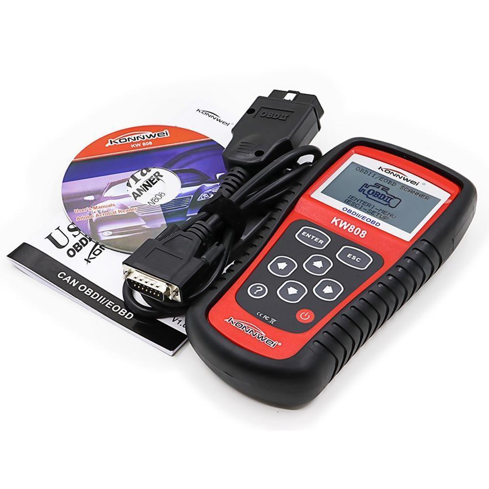 Konnwei KW808 OBD Car Scanner OBD2 Auto Automotive