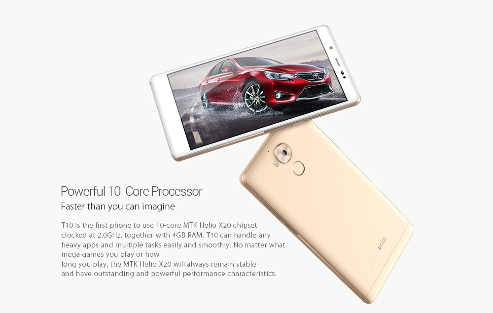 Leagoo T10 Android 6.0 4G Phablet 5.7 Inch FHD Screen ...