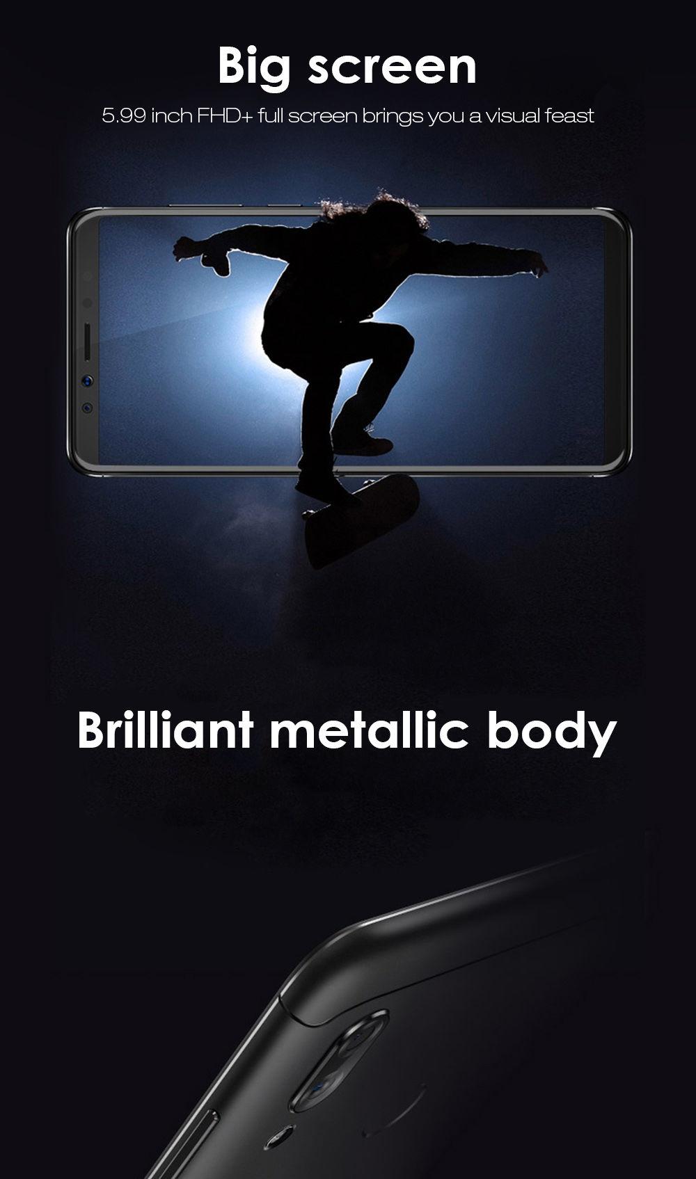 Lenovo K5 Pro 4G Phablet Android 8.1 Octa Core 4GB RAM 64GB ROM